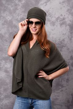 Classic Poncho-Dress Topper Collection - Jennigraf e. Poncho Dress, Cashmere Poncho, Classic, Collection, Dresses, Derby, Vestidos, Classic Books, Dress