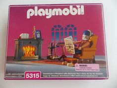 PLAYMOBIL 5315 for 5300 Victorian Mansion - Grandfather's Den Furniture NISB NEW #PLAYMOBIL