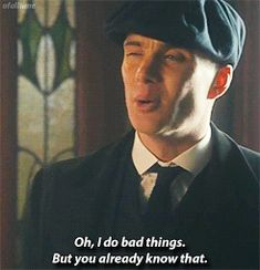Cillian Murphy as Thomas Shelby Peaky Blinders - We all know this scene 💜 Peaky Blinders Tommy Shelby, Peaky Blinders Thomas, Cillian Murphy Peaky Blinders, Peaky Blinders Series, Peaky Blinders Quotes, Boardwalk Empire, Series Movies, Tv Series, Shelby Brothers