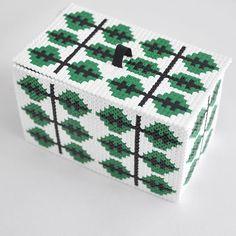 Box hama beads by  parlplatteinspo