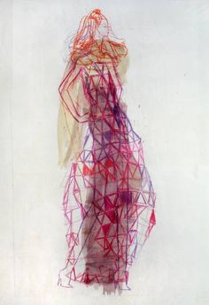 "Saatchi Art Artist Claudia Wimmer; Drawing, ""Egypt 15"" #art"