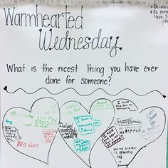 Spreading the feel goods ❤️💕 Morning Work, Morning Meetings, Morning Activities, Daily Writing Prompts, Bell Work, Responsive Classroom, Future Classroom, School Classroom, Classroom Community
