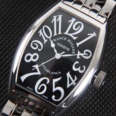 フランクミュラーカサブランカAsian 21600振動 ムーブメント搭載(レディース腕時計)