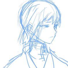 Stone World, Hot Anime Guys, Manga, Fan Art, Mental Illness, Sketch, Drawing, Painting, Design
