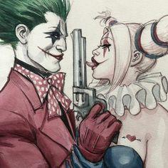 Joker Cartoon, Joker Comic, Harley Quinn Comic, Joker Art, Minimalist Theme, Harley And Joker Love, Joker Drawings, Harley Quinn Drawing, Joker Images