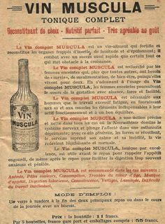 vin Muscula : pour les femmes enceintes...