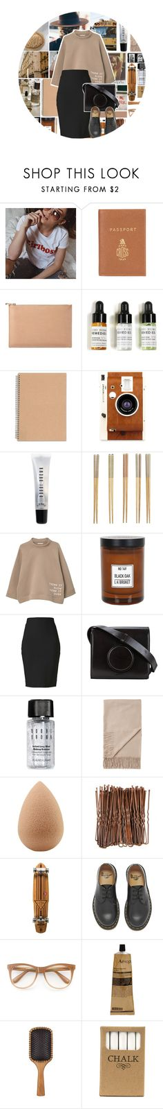 """""""Think it slow think it over.( check d )"""" by rhianna-alexandre on Polyvore featuring Barrie, Aspinal of London, Bobbi Brown Cosmetics, Made of Me, LØMO, Crate and Barrel, MANGO, L:A Bruket, Winser London and Lemaire"""