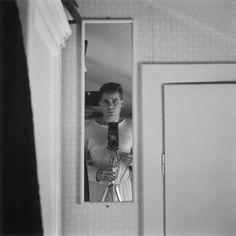 Gunnar Smoliansky self-portrait - 1952 Night School, Know Your Name, One Pic, Selfie, Portrait, Collection, Art, Art Background, Kunst