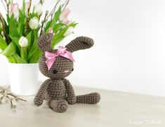 Amigurumi Easter Bunny - FREE Crochet Pattern / Tutorial