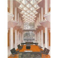 The Yamasaki buildings on the Wayne state university campus are a Detroit gem via thekimswift- gorgeous, interior,