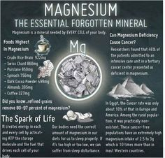 The essential forgotten mineral
