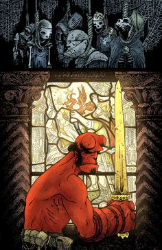 Hellboy The Storm and the Fury, saddest series in hellboy I'd ever witnessed.... why Mignola, why? Hellboy Movie, Nerd Art, Mike Mignola, Comic Artist, Cool Artwork, Anime, Comic Books Art, Marvel Comics, Geek Stuff