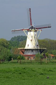 Mill of Haamstede, Netherlands