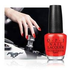 OPI Mustang Collection: El 50 aniversario del 'pony car' en tus manos