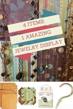 DIY Jewelry Organiza