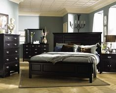 Ashton black bedroom set