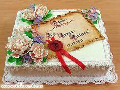 Torta K promócii _ To graduation ceremony _ Báječné torty od Ivanky a Slavomíra * Fabulous cakes * Báječné dorty