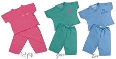Personalized Monogrammed Infant Toddler Kid's Doctor Nurse Scrubs - Big Brother, Big Sister - Pink, Green, Blue on Etsy, $32.00