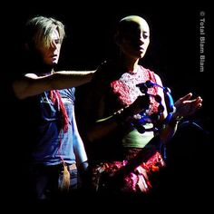 David Bowie and Gail Ann Dorsey