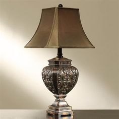 Mink Brown Table Lamp