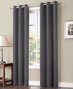 Sun Zero Preston 40 X 84 Blackout Grommet Curtain Panel