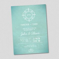 ABOUT THIS PRODUCT  - This is a 5x7 customized printable invitation. - All text…
