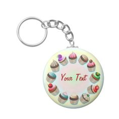 ☆SOLD!☆ #Cupcakes #Colorful #Circle #Keychain! http://www.zazzle.com/cupcakes_colorful_circle_keychain-146866065985987562