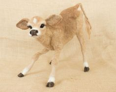 MaryBeth the Jersey Cow Calf by TheWoolenWagon