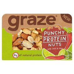 Graze Punchy Nut 41G - Groceries - Tesco Groceries
