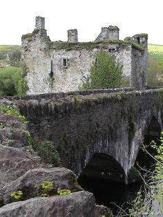 Abandoned Carrigadrohid Castle Co. Cork, Ireland.