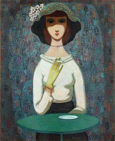 Pelle Åberg - Girl with Cigarette.