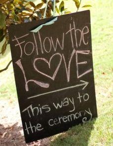 Wedding This Way Wedding Directional Sign | sraineths wedding stuff ...