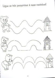 Resultado de imagem para atividades com 3 porquinhos