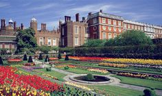 Hampton Court Palace. Love to go here one day.