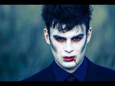 Halloween: Vampire Make-up Tutorial - YouTube