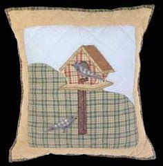 """#Pillows #Birdhouse Sumer Cotton Pillow 18"""" x 16"""" # 67028 Shop --> http://www.rensup.com/Pillows/Pillows-Cotton-Birdhouse-Summer-Pillow-18-feet-H-a-16-feet-W/pd/67028.htm?CFID=2715304&CFTOKEN=2449a344f23d30f4-CCE13806-9399-28FD-F0C2CC41E4008F50"""
