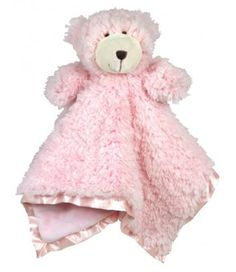 """SUPER soft and fluffy Cuddle Buds make perfect sleeptime companions! Each Cuddle Bud measures 18"""" square, and is sure to become a forever friend for your little one. Sherpa fur on the top, soft plush on the bottom and trimmed with silky satin.   All Stephan Baby products are CPSIA tested for baby's safety."""