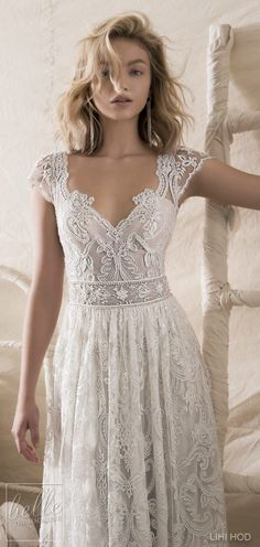 Wedding Dresses by Lihi Hod Fall 2018 Couture Bridal Collection - Sabine #WeddingDress #weddingdresses