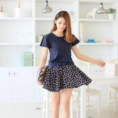 Buy 'Hanee – Mock Two-Piece Short-Sleeved Fish Print Dress' with Free International Shipping at YesStyle.com. Browse and shop for thousands of Asian fashion items from China and more!