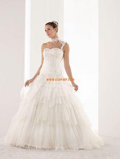 Princess-Stil Tülle Applikation Brautkleider 2014