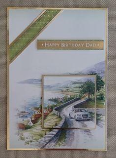 Handmade C5 Greeting Card  Birthday by BavsCrafts on Etsy
