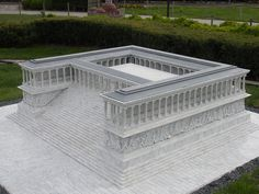 Reconstruction of the Altar of Zeus at Pergamon.