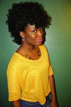CurlsUnderstood.com: Gorgeous frohawk natural hair