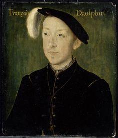 Portrait de Charles de France, duc d'Angoulême .... Corneille de Lyon (vers 1500-vers 1575)