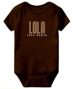 Baby Bodysuit Lola True Woman