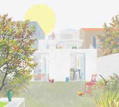 Duas propostas para um restauro, Marselha, França. FALA Atelier