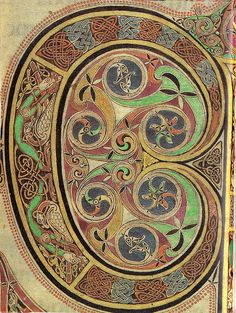 "Illuminated Manuscript ""C"" ancient celtic C from book of Kells Book Of Kells, Celtic Patterns, Celtic Designs, Medieval Manuscript, Medieval Art, Illuminated Letters, Illuminated Manuscript, Illuminati, Celtic Culture"