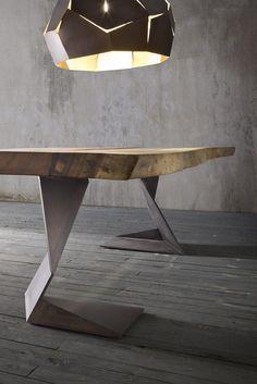 Solid wood table TROG - @elitetobe