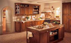 Classic kitchen design idea