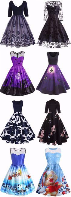Vintage Dress | Start From $10 | Sammydress.com